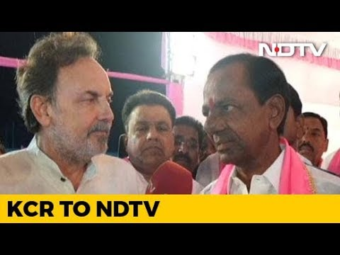 """I'm A Warrior, Not A Beggar"": NDTV Exclusive With K Chandrashekar Rao"