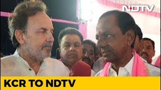 """I\'m A Warrior, Not A Beggar\"": NDTV Exclusive With K Chandrashekar Rao"