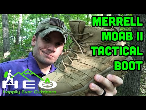 d42f29da Merrell Moab 2 Tactical Boot unboxing - YouTube