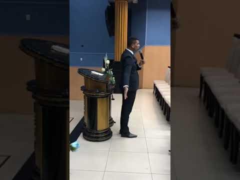 Pr Márcio Rodrigues Pregando Na ADJAF SERGIPE
