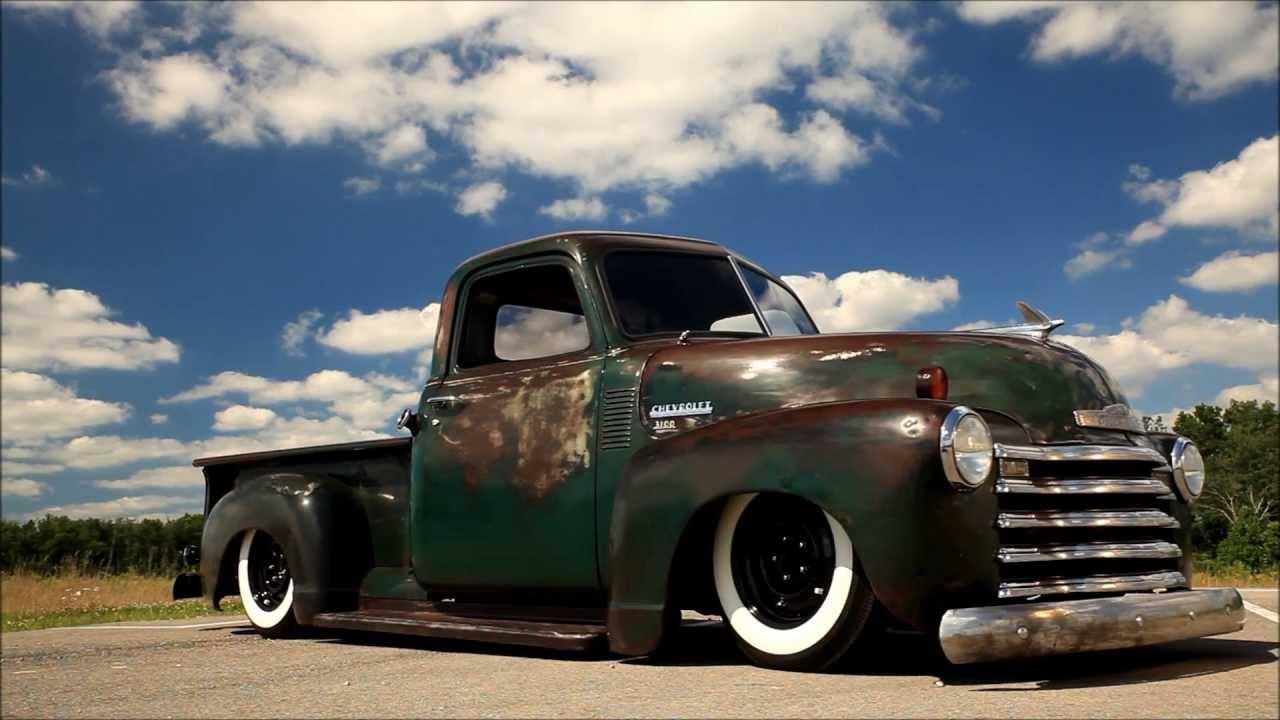 1950 Chevrolet Pickup Patina Shop Truck, Air Bagged, Air Ride, AC ...