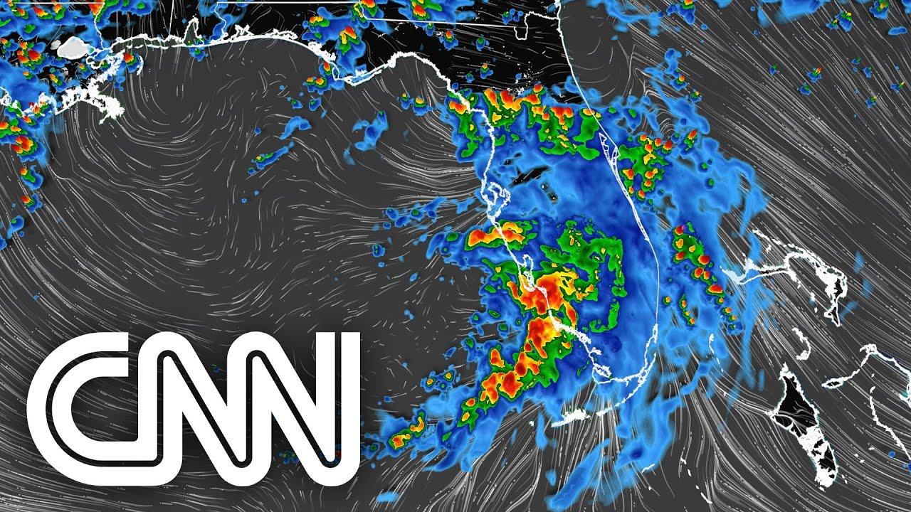 Tempestade Elsa é reclassificada como furacão e se aproxima da Flórida | JORNAL DA CNN