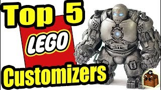 Top 5 LEGO Minifigure Customizers