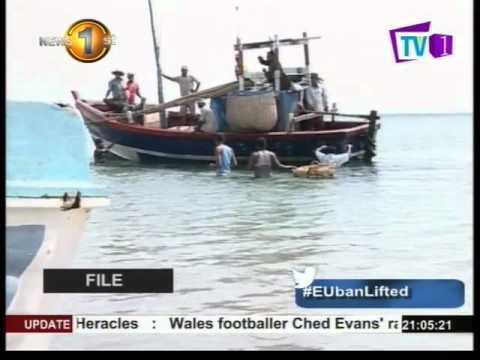 EU ban on Sri Lankan fish exports lifted : Minister Mahinda Amaraweera