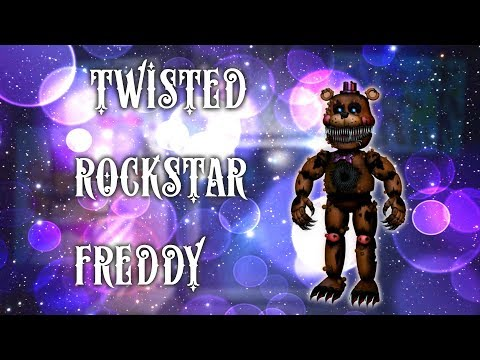 [ Speed Edit | FNaF ] Make  Twisted Rockstar Freddy
