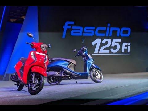 Tin nhanh 24/7 - Mục sở thị Yamaha Fascino 125 Fi Hybrid 2021 ra mắt tại NÁ, giá cực rẻ 22,6 triệu.