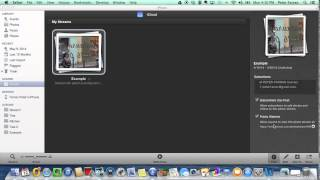 how to share iphoto albums with icloud shared photo streams