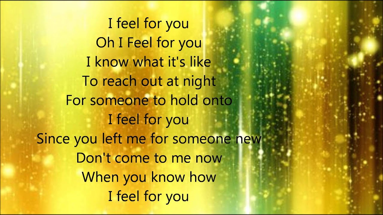 I Feel for You Lyrics by Lila McCann - YouTube