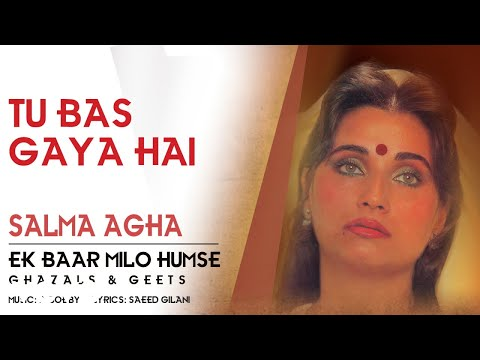 Tu Bas Gaya Hai - Ek Baar Milo Humse | Salma Agha | Ghazal Song