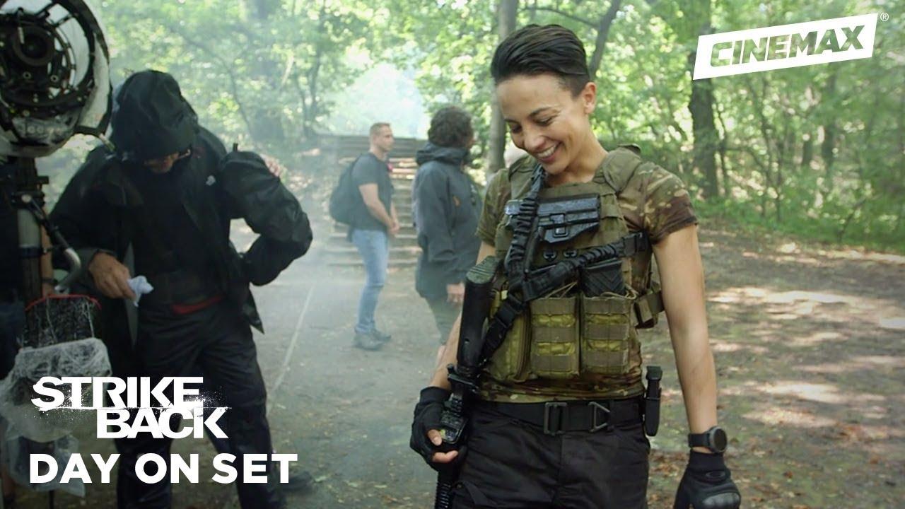 Download Day on Set   Strike Back   Cinemax