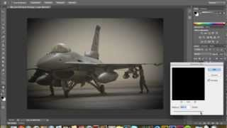 How to add vignetting Photoshop CS6 - quick