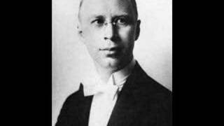 Prokofiev plays his own Piano Concerto No. 3 (1st movement - 1932)