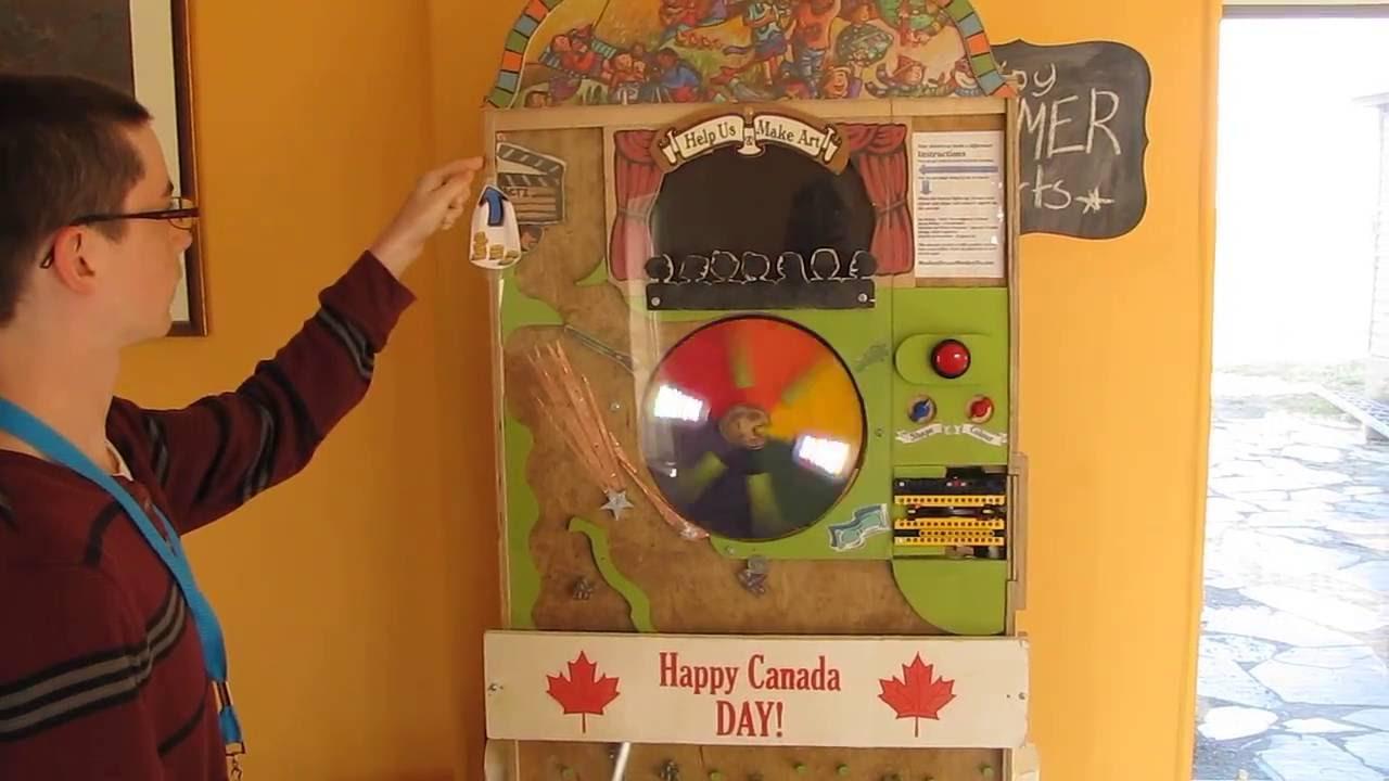 coin donation machine