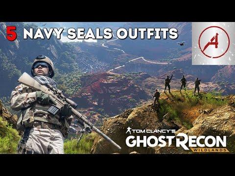 Ghost Recon Wildlands   5 Navy Seals Outfits
