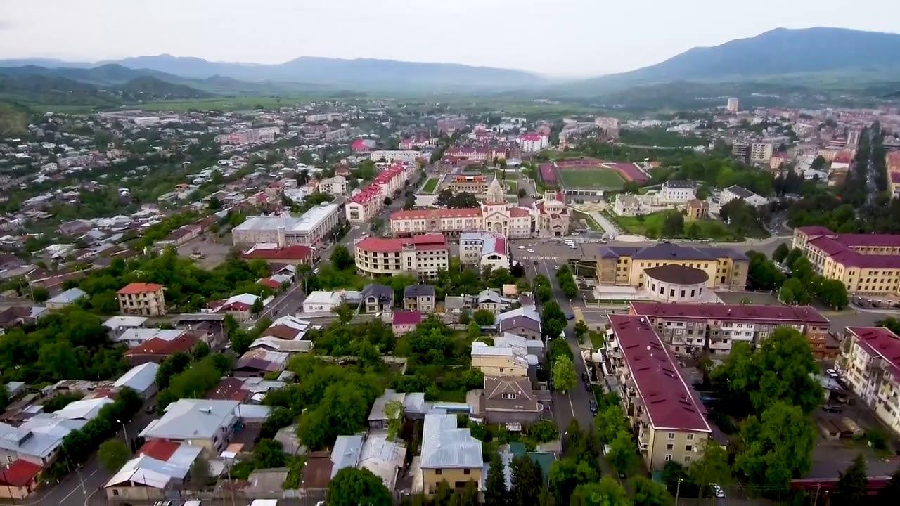 Azərbaycanın işğal olunmuş Xankəndi şəhəri 2018 - YouTube