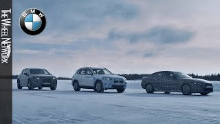 BMW iNEXT, BMW i4 and BMW iX3 Prototypes Winter Testing