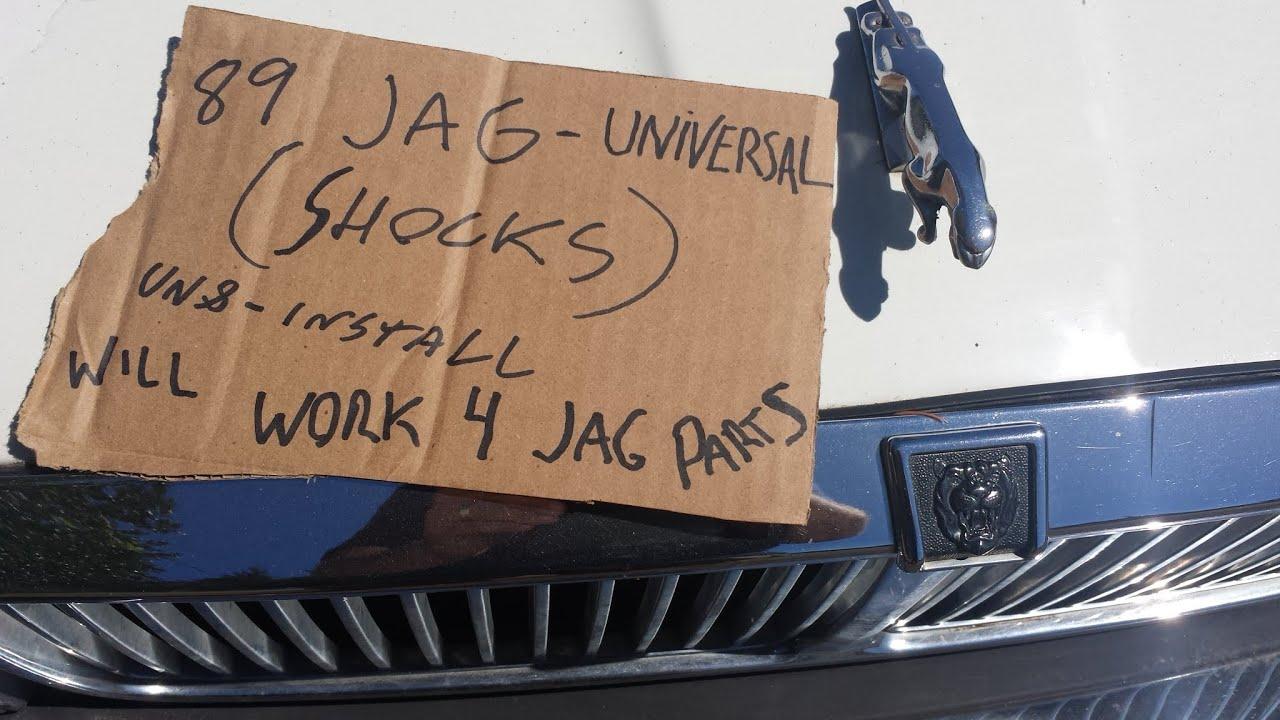 1988 1993 Jaguar Xj6 Front Shocks Struts Youtube Rear Suspension Diagram