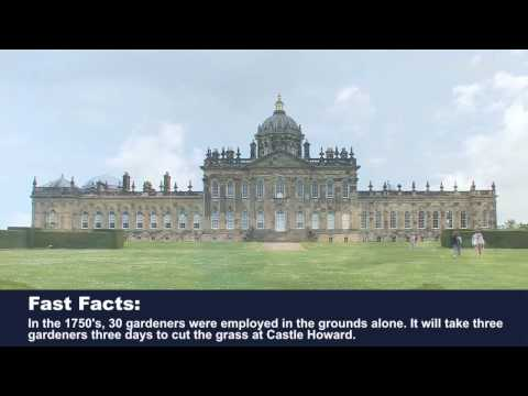 A tour of Castle Howard in North Yorkshire England