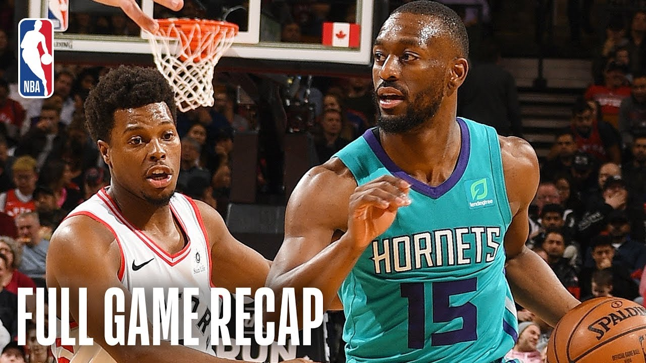 Hornets Vs Raptors Must See Finish In Toronto March 24 2019 Youtube
