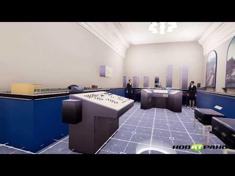 Виртуальная экскурсия по залам Центрального музея железнодорожного транспорта РФ