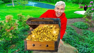 HOW MUCH IS THIS GOLD WORTH?! (Treasure Found in Sharer Fam Backyard)