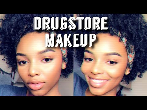 DRUGSTORE/AFFORDABLE BACK TO SCHOOL MAKEUP ROUTINE | Simple + Quick | Flawhs