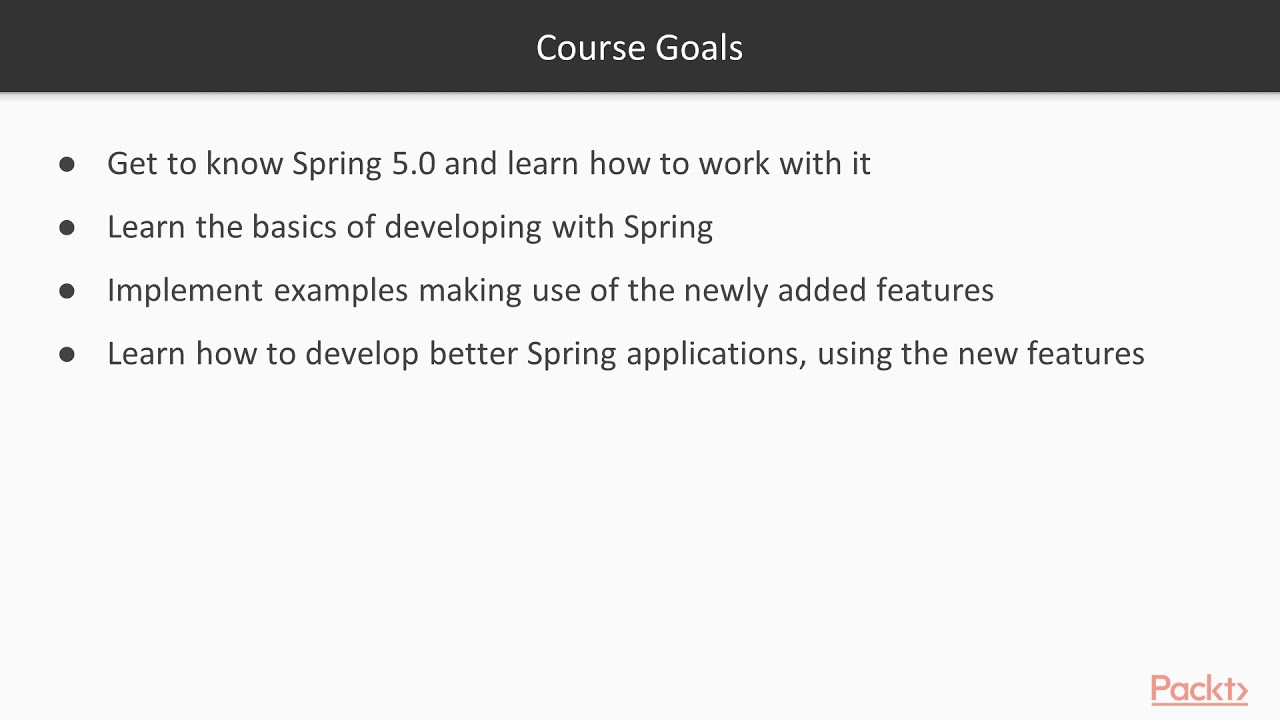with Spring 5 tutorial