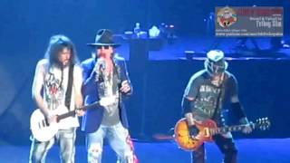 Guns N' Roses GNR   Indonesia Raya   Don't Cry live in Jakarta 2012