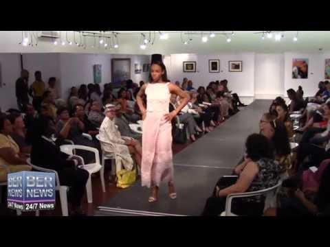 Mikaela Eshe At Bermuda Fashion Collective, November 3 2016