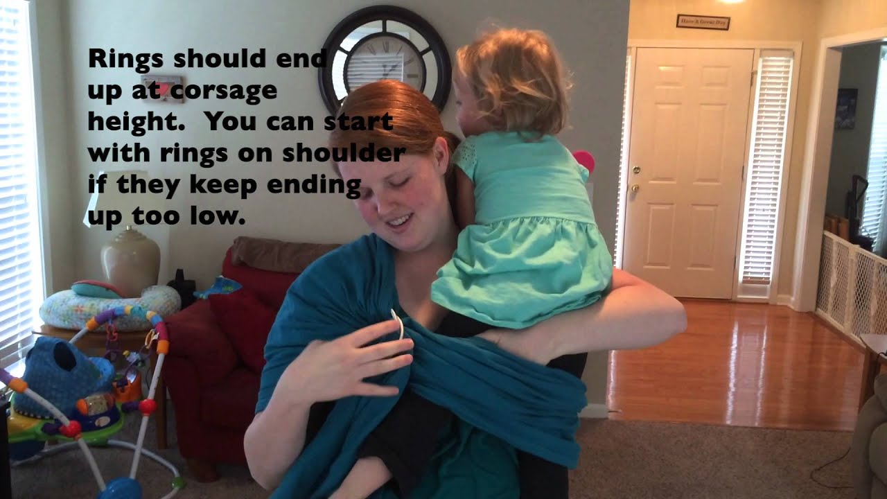 Beco Ring Sling Review Tutorial Youtube