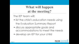 Help! I'm Going to My First IEP Meeting