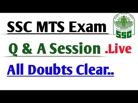 Q&A SSC MTS EXAM 2016 ASK YOUR QUESTION