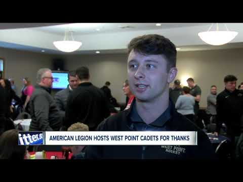 American Legion Post 928 Hosts West Point Cadets For Thanksgiving