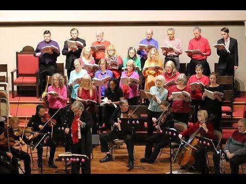 """Messiah"" Sing Along 2017 Fairfield Iowa"