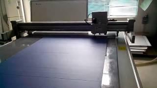 Aokecut@163.com Plastic Corrugated Coroplast Sample Maker Carton Box Desktop Cutter Table Machine