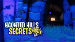 Haunted Hills SECRET Chests, Loot & MORE! | Fortnite Battle Royale