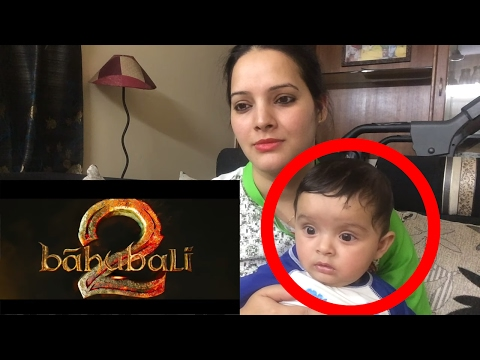 Baahubali 2 - The Conclusion | Official Trailer Reaction - Mom and Me | S.S. Rajamouli | Prabhas