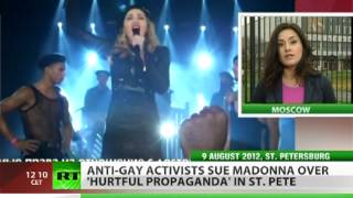 Madonna wanted in Russia for 'gay propaganda'