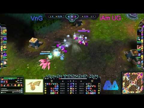 [HD] VEU-Championship Day 7 - Vietnamese Gamers VnG vs Cyborg iAm Underground
