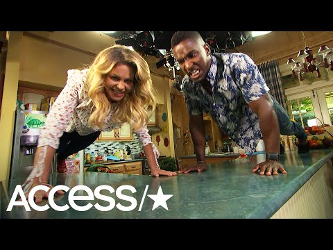 'Fuller House' Star Candace Cameron Bure Gets Scott Evans To Take The PushUp Challenge  Access
