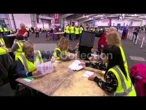 SCOTLAND: BALLOT COUNT BEGINS