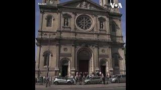 法国疫情渐缓 教堂恢复弥撒