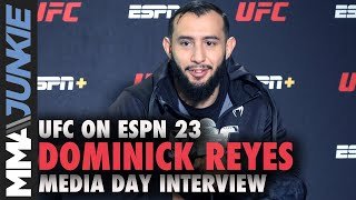 Dominick Reyes went to 'dark place' after back-to-back losses | UFC on ESPN 23 media day