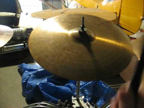 Paiste 404 18 medium crash compared to 505 - 2002 & 602 bad ass