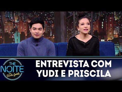 Entrevista com Yudi e Priscilla  | The Noite (14/06/18)