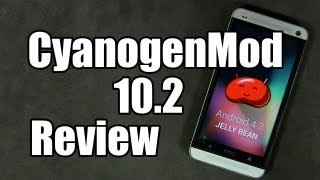 "CyanogenMod 10.2 ""CM10.2"" for HTC One - Mini Review"
