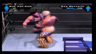 Download lagu Smackdown HCTP RVD vs Rey Mysterio TLC Match MP3