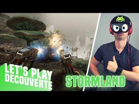 LE MEILLEUR ROBOT MULTIFONCTION ! Stormland - Let's Play Découverte (Oculus Rift S)