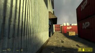 Half-Life 2 Walkthrough: Chapter 4 - Water Hazard {Part 2} [Hard Mode] (1080p)