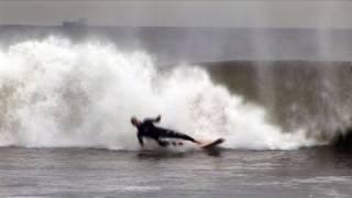 Hurricane Noel- Surfing Waves @ Rockaway Beach, NYC November 3rd, 2007
